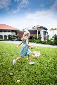 Go on an Easter egg hunt at Capella Singapore and win great prizes.