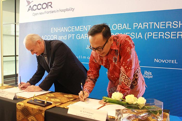 MOU Signing ceremony - Accor and Garuda Indonesia