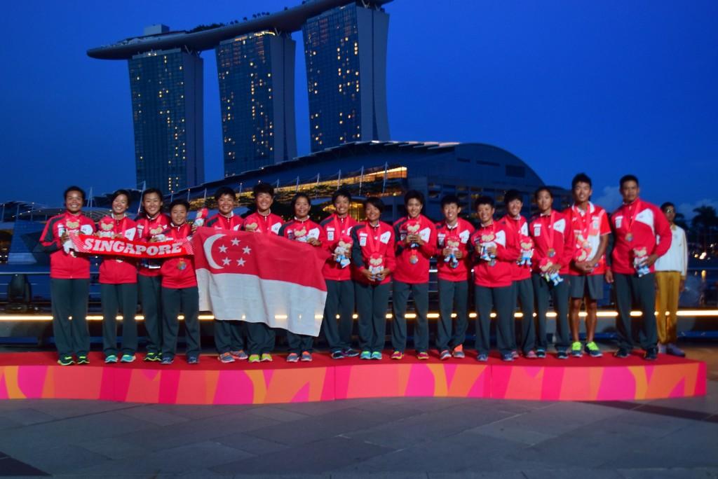 girls bronze medalist