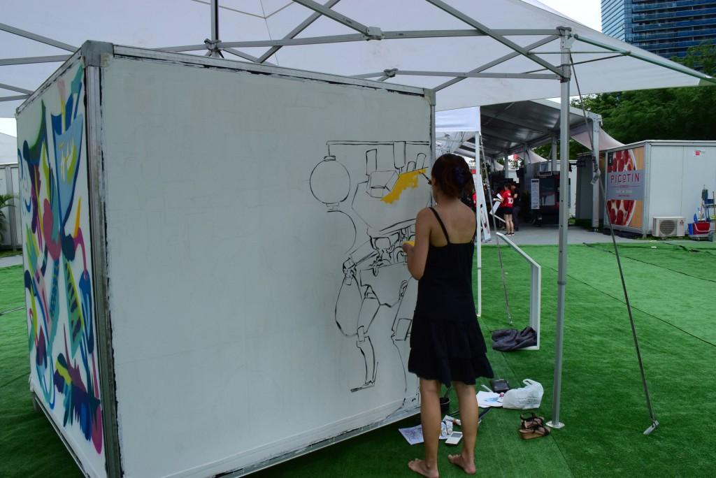 singapore budding artiste