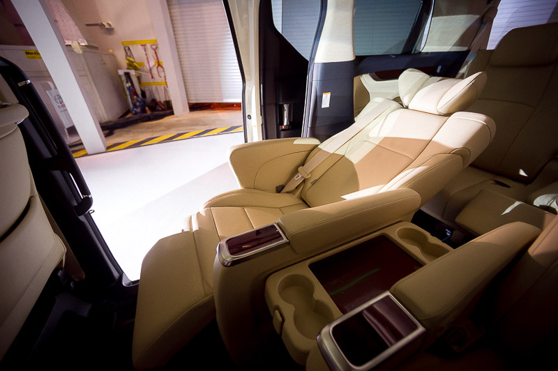 Recline in style. The MPVs got upgraded with even more cabin space.