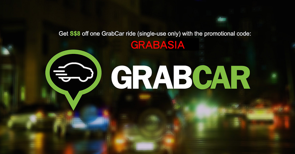 Get $8 Off Your GrabCar Ride with 'GrabAsia' Promo Code