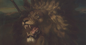 Wounded Lion artwork