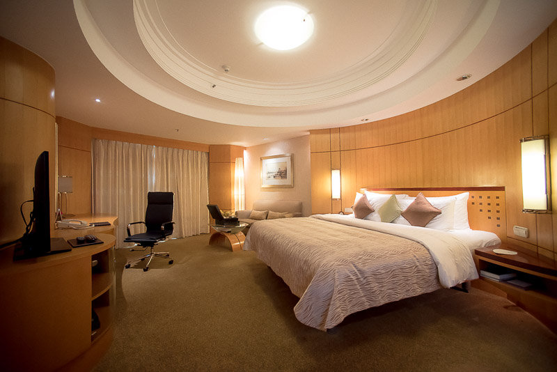 Interior of the Deluxe room. (Photo: Gel ST)