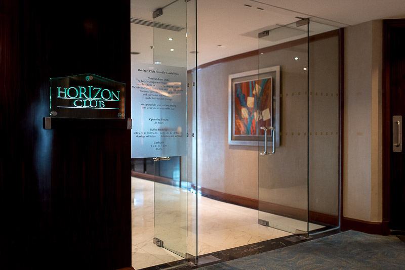 Entrance to the Horizon Club Lounge. (Photo: Gel ST)
