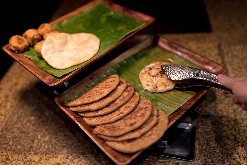 Indian Naan for breakfast. (Photo: Gel ST)