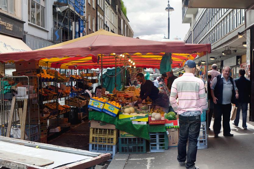 Berwick Street Market. Photo © Stu Smith | Flickr