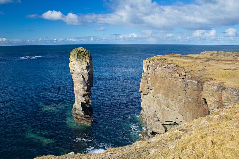 Yesnaby sea stacks. Photo © johnbraid | Shutterstock
