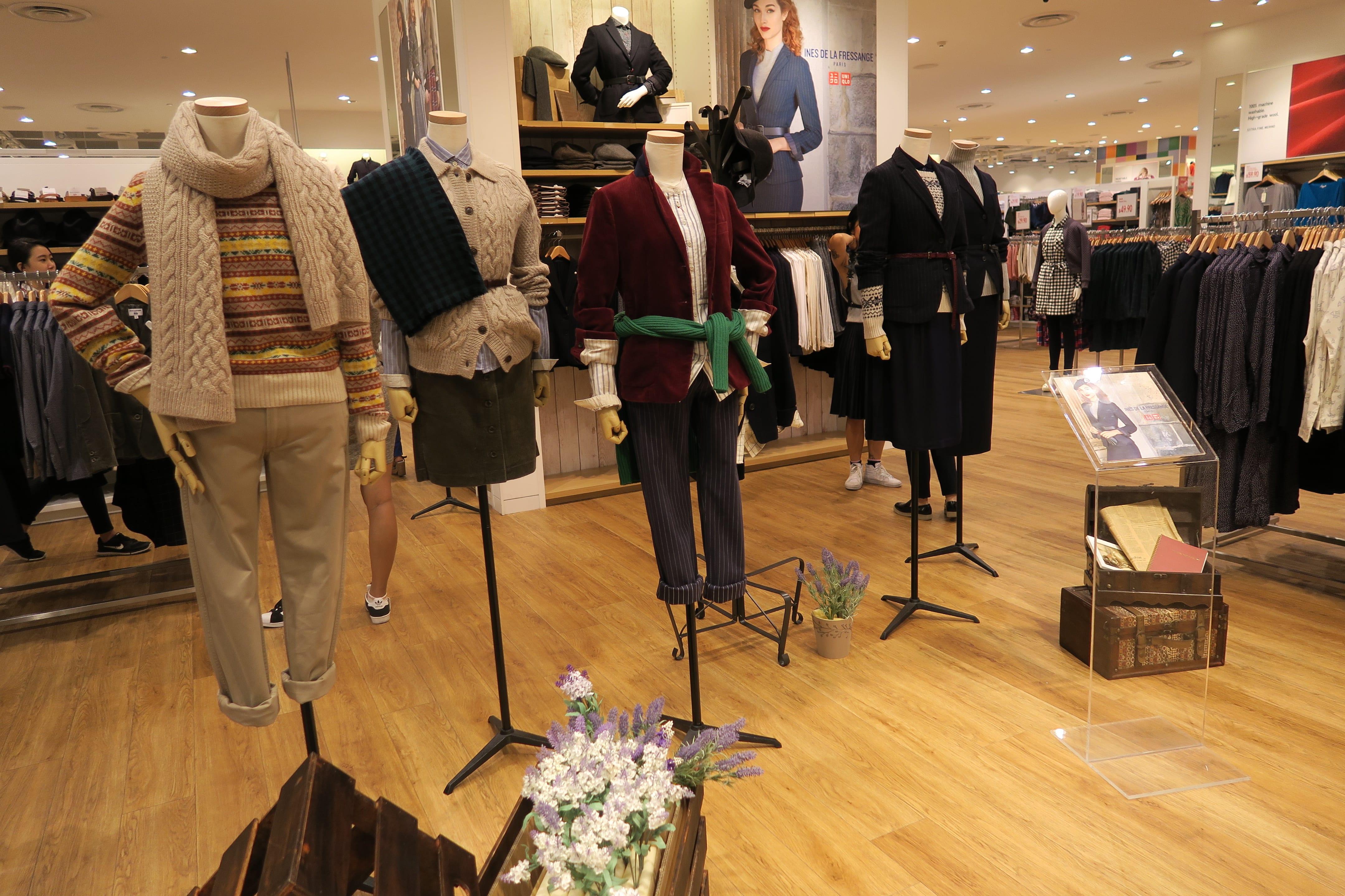 Shop Uniqlo x Ines de La Fressange FW2015 - Asia 361
