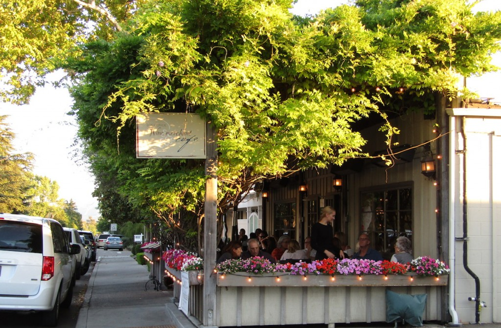 The Los Olivos Wine Merchant & Cafe made famous by the movie Sideways.