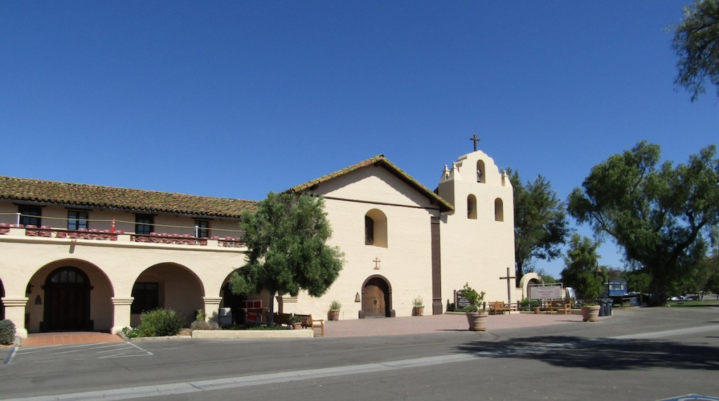 Mission Santa Inés is a Spanish mission in the present-day city of Solvang, California