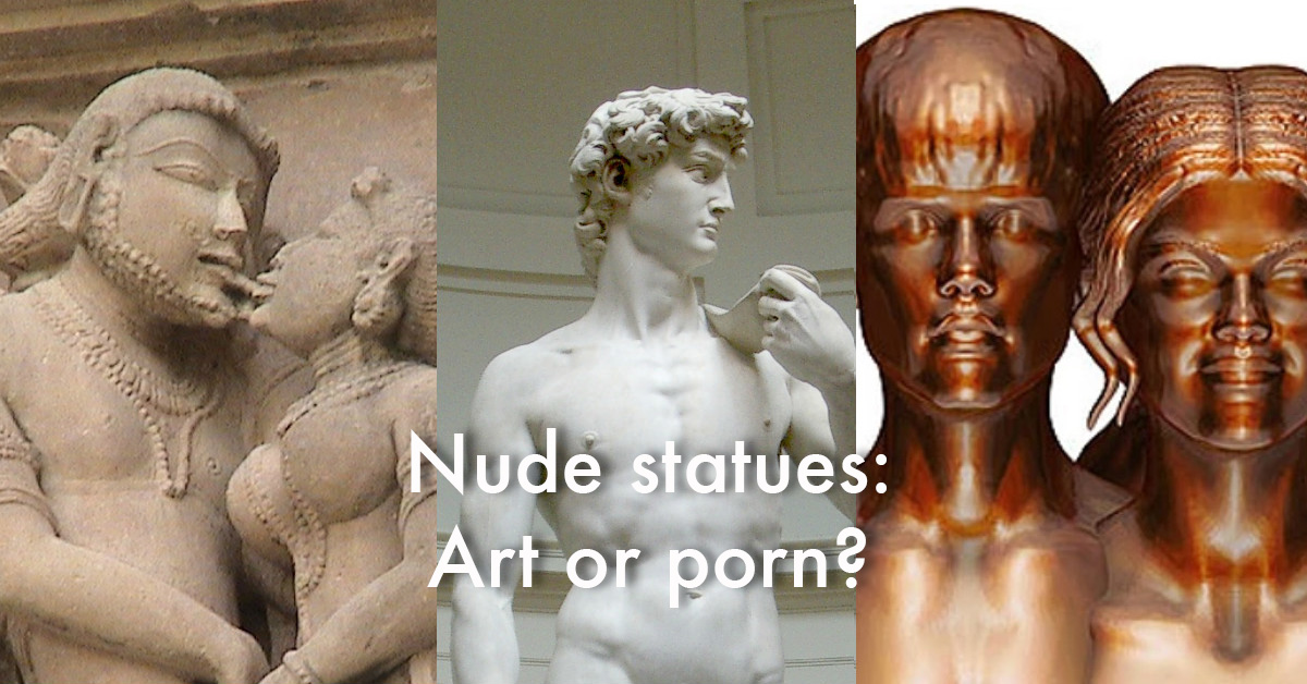 Sex with statues porn
