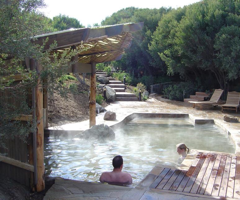 Photo courtesy of Peninsula Hot Springs.