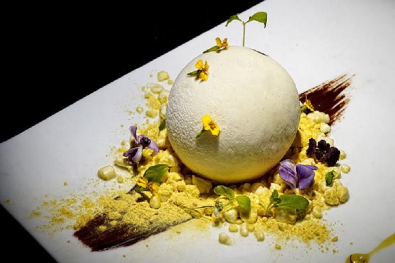 Mango snowball