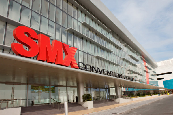 The SMX Convention Center, home to many of Manila's big events and conventions.