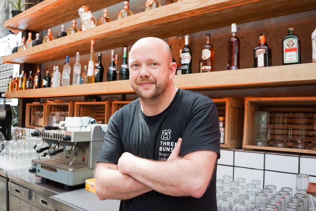 'Kitchen Folk' Adam Penney, chef extraordinaire.