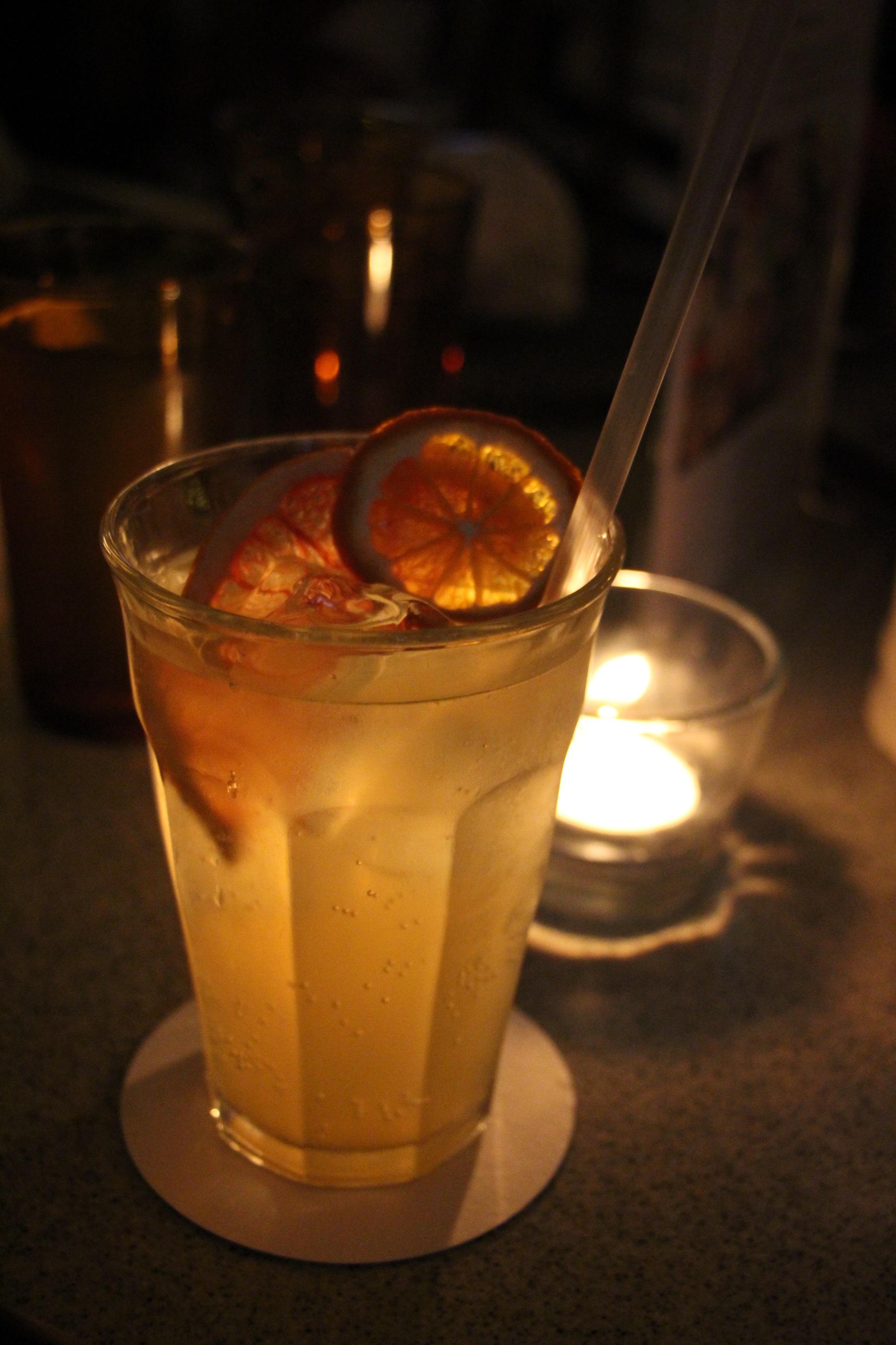 My Sherbie Hancock - Zingy sherbet lemonade with orange, lemon and grapefruit.