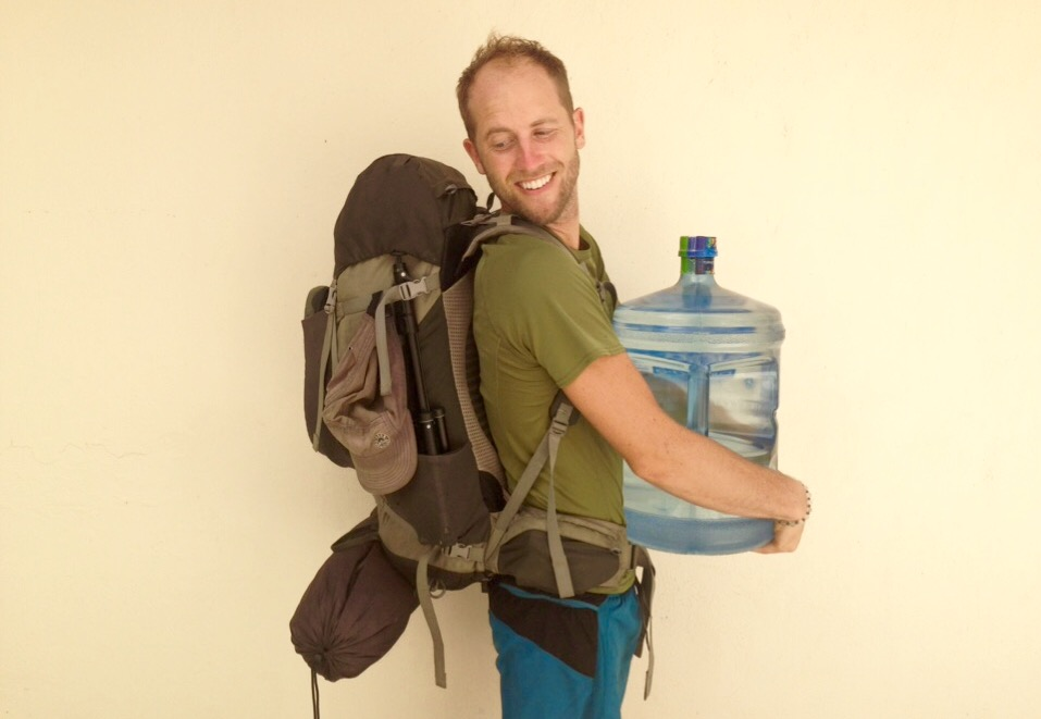 My-111-Possessions-in-bacpack-with-jug