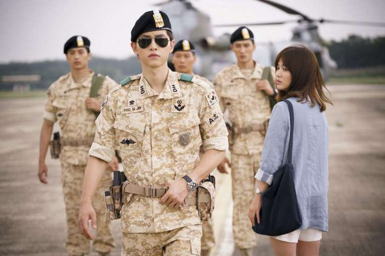 One of the scenes from the hit drama 'Descendants of the Sun'. Photo © KBS