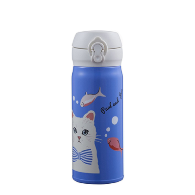 Starbucks x Paul & Joe Blue Cat Flask 400ml (Price: TWD1580)