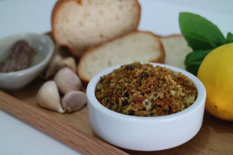 Delicious, crunchy pangrattato ©Photo by Mandy Ng