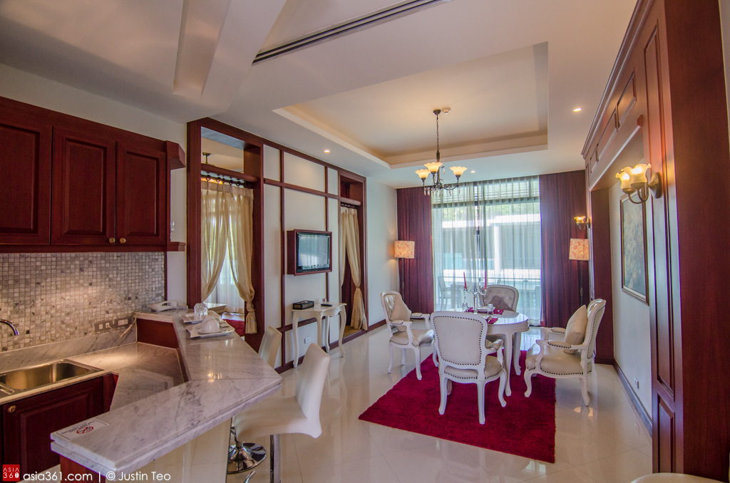 One of the Deluxe Suite with Private Pool at Wyndham Sea Pearl Resort.