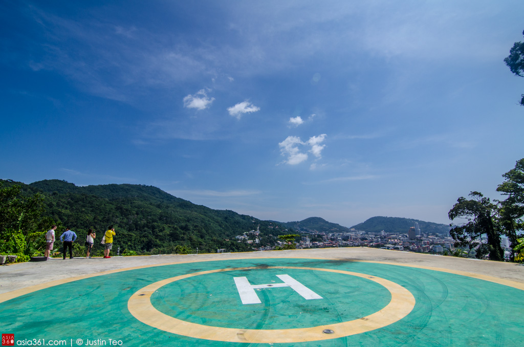 A helipad is perfect for those seeking to make an entrance to the Wyndham Sea Pearl Resort Phuket.