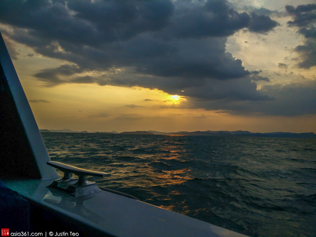 Sun never really sets in the Andaman sea.
