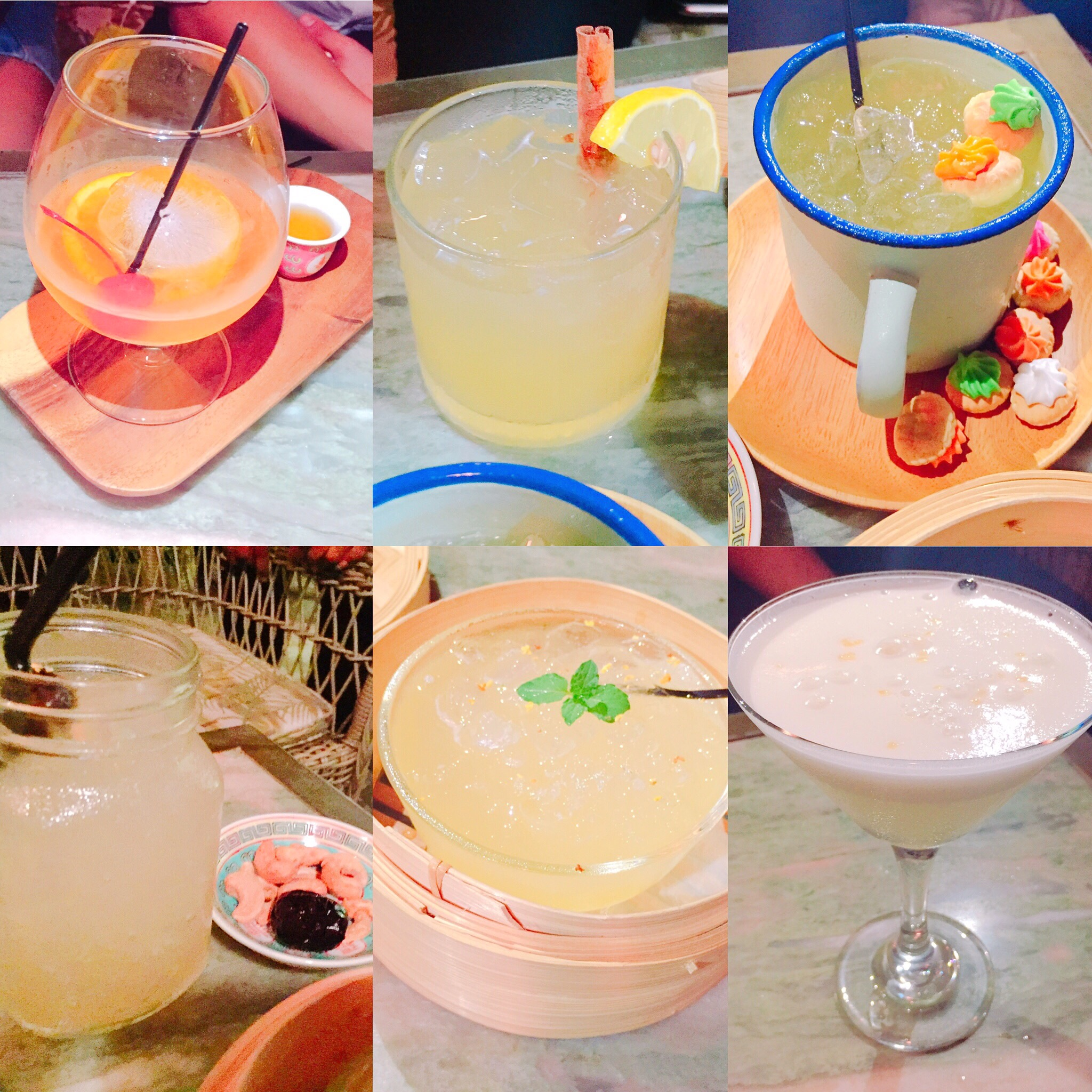 The coolest named drinks at Sum Yi Tai