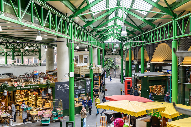 Borough Market. Photo © Alexandre Rotenberg | Shutterstock