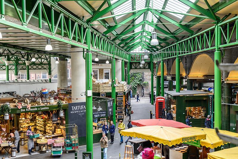 Borough Market. Photo © Alexandre Rotenberg | Shutterstock