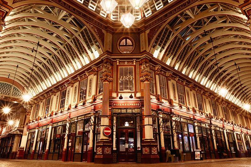 Leadenhall Market. Photo © I Wei Huang | Shutterstock