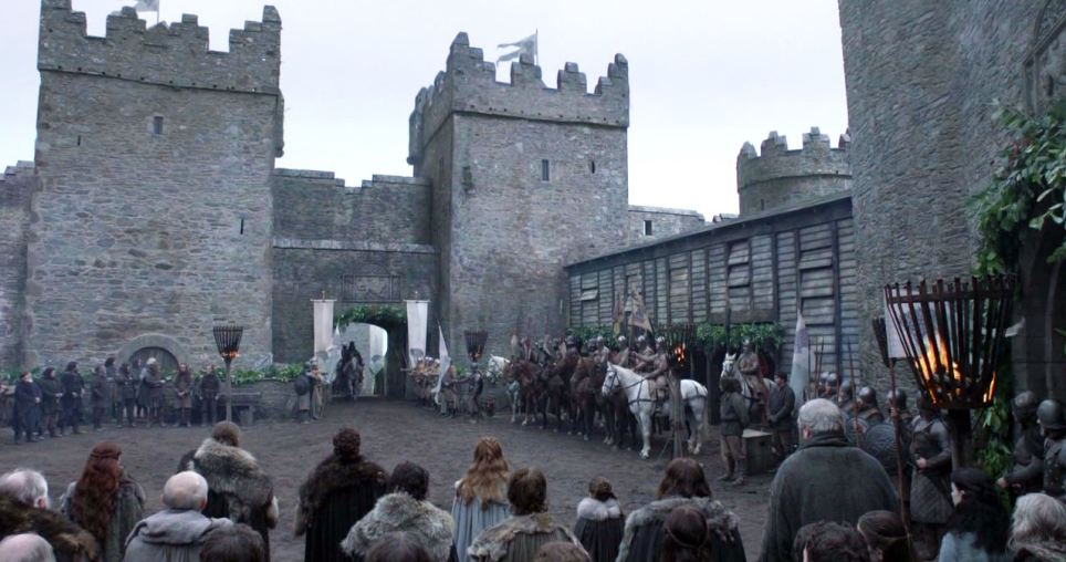 Castle Ward was digitally enhanced to become Winterfell in Game of Thrones. Photo: HBO