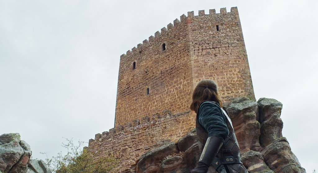 The young Ned Stark at Tower of Joy (Zafra Castle). Photo: HBO