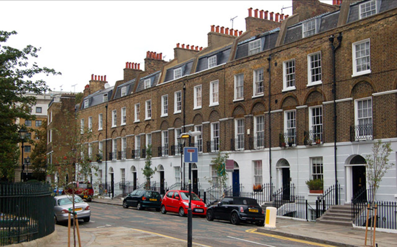 Claremont Square. Photo © Andy F | Wikimedia Commons