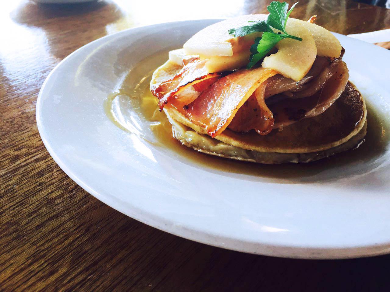 pancake closeup