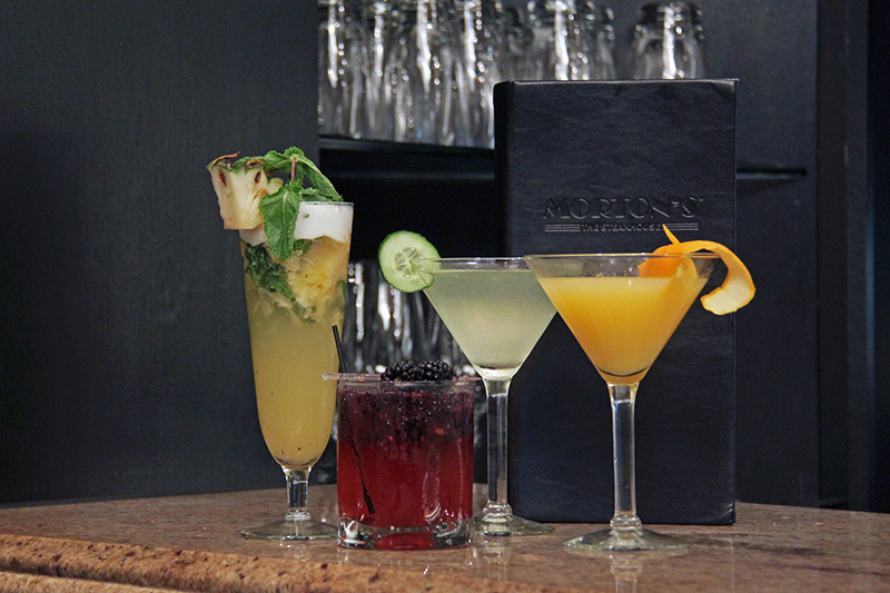 new cocktail selection at Morton's