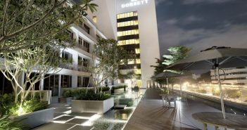 The Dorsett Singapore is a modern hotel, with a bit of a playful side, located on the boundary of Singapore's beautifully preserved Chinese quarter.