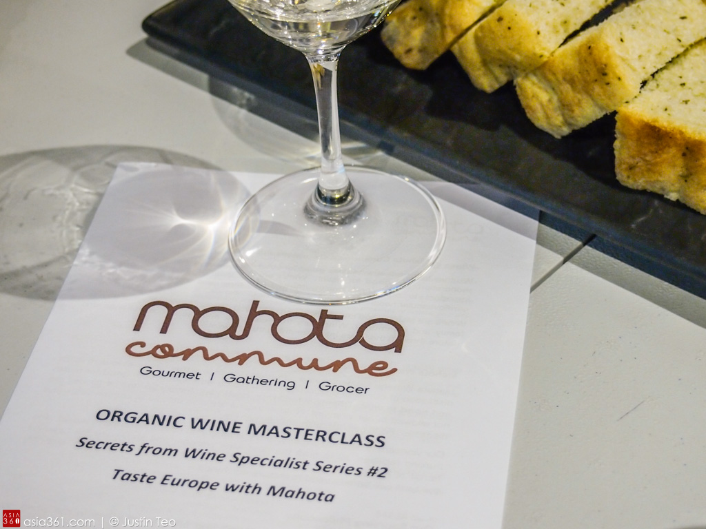 Organic wine masterclass, Taste Europe With Mahota.