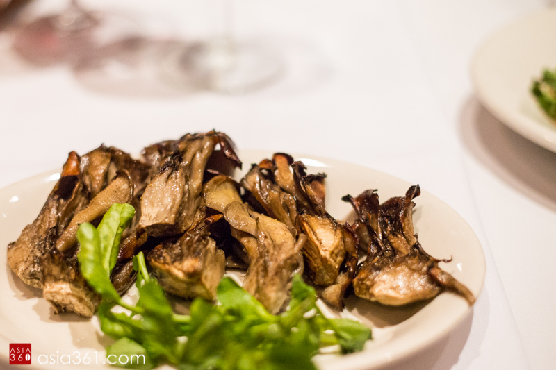 Roasted Hen of the Woods Mushrooms