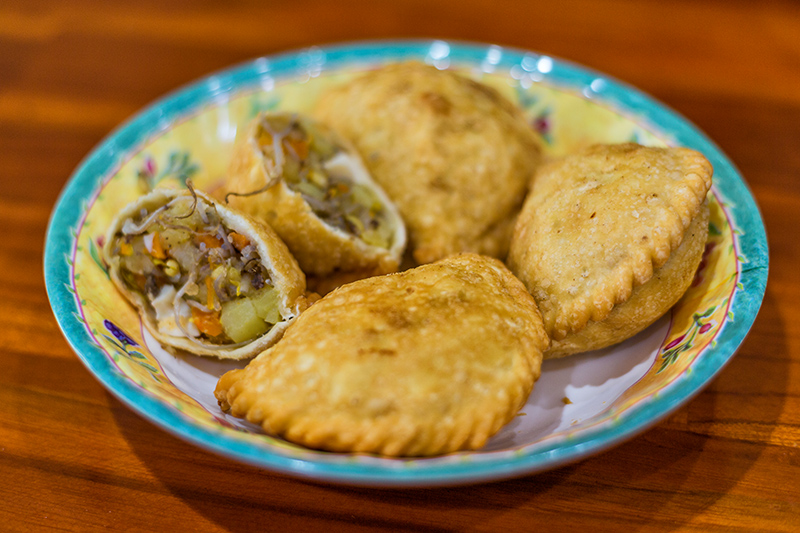 It may look like a curry puff, but the Jala