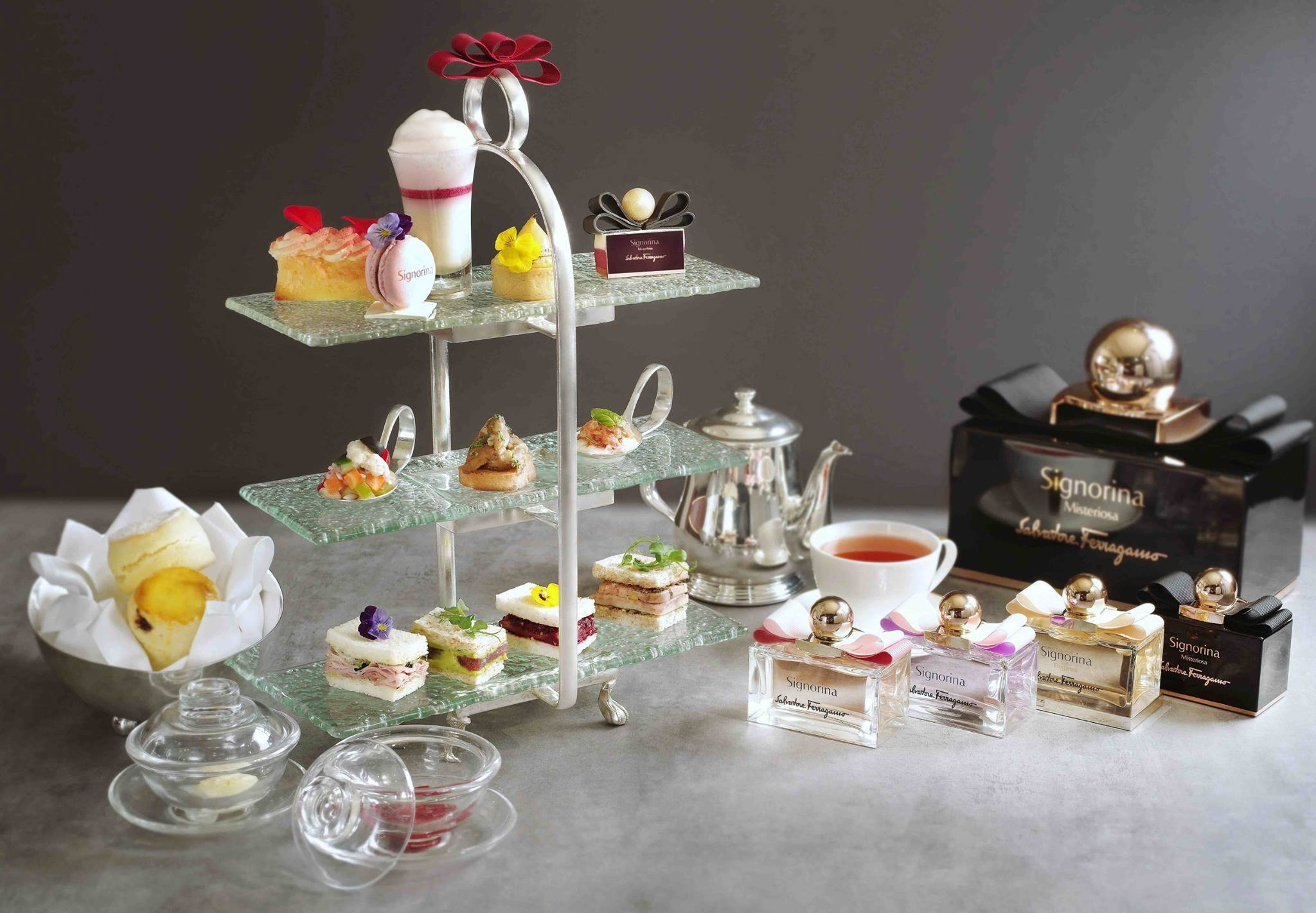 ... Kong Launches Salvatore Ferragamo Fragrance Afternoon Tea - Asia 361