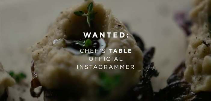 Are You a Worthy Foodie for Chef's Table?