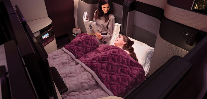 Qatar Airways Sets New Standards With First-Ever Double Bed in Business Class