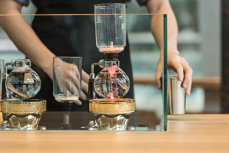 First Ever Starbucks Reserve Coffee Experience Bar Opens