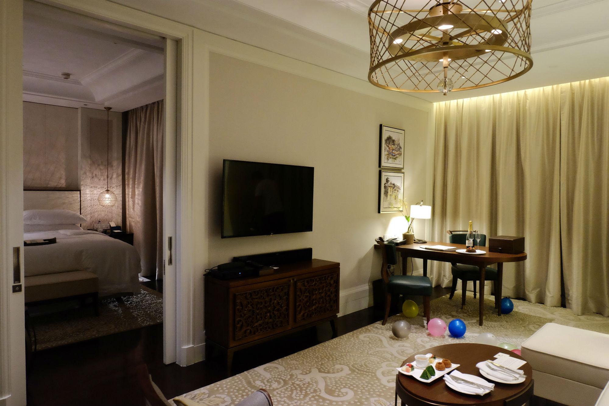 St. Regis Langkawi Pool Suite Living Room