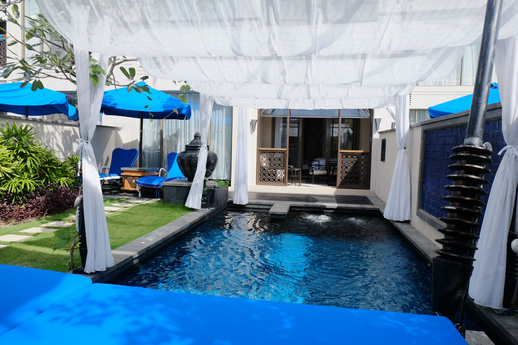 Private pool at St. Regis Langkawi Pool Suite