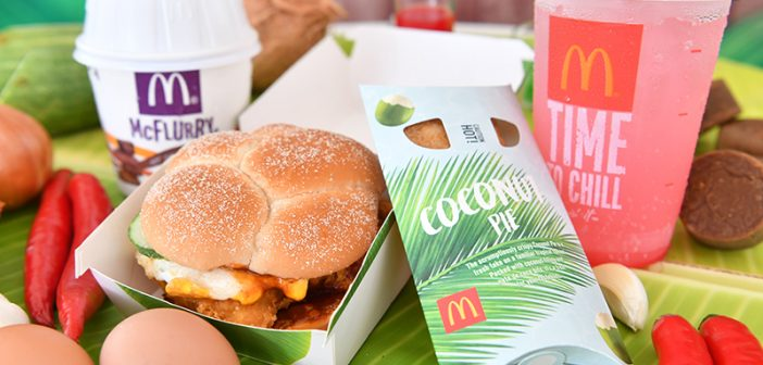 Nasi Lemak and McDonald's Sound Like a Match Made in Heaven