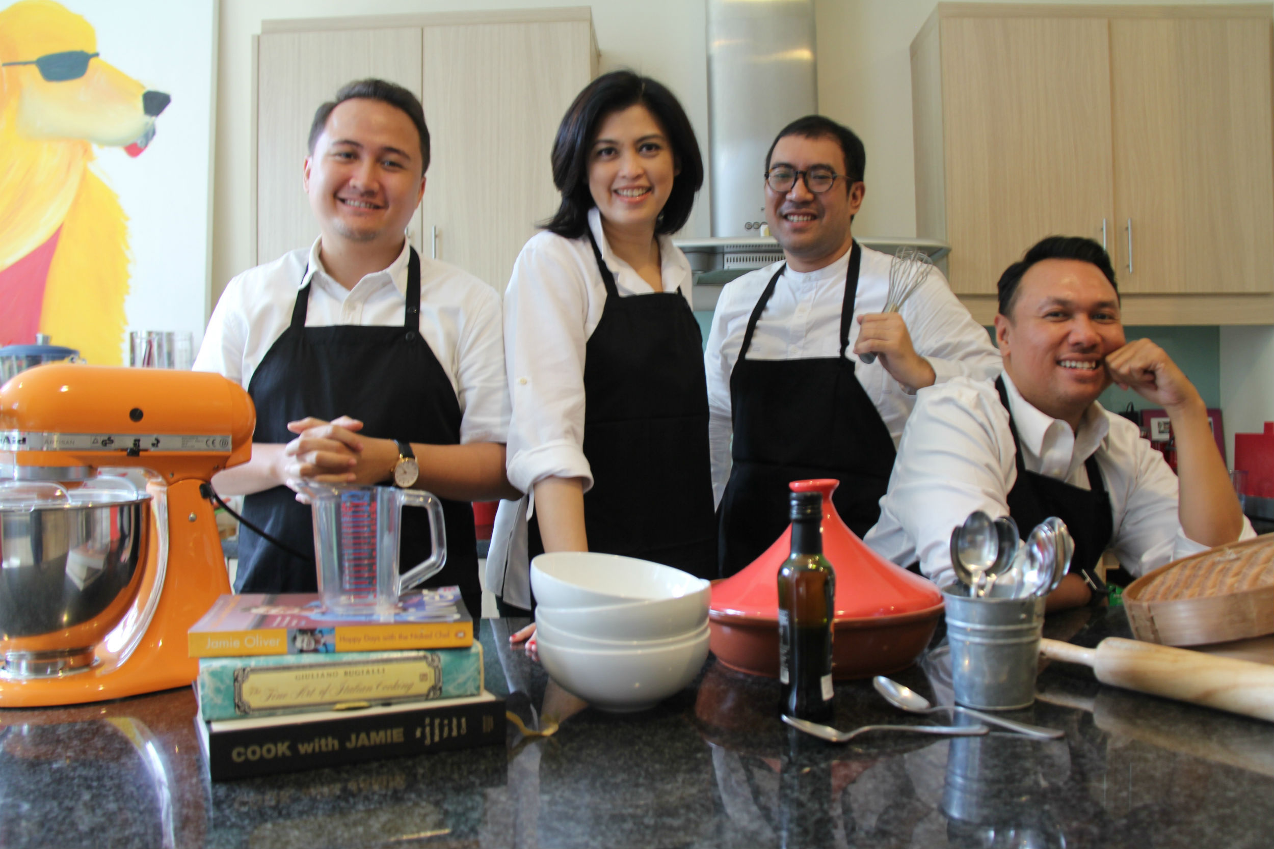 The chefs - Modern Indonesian Cuisine