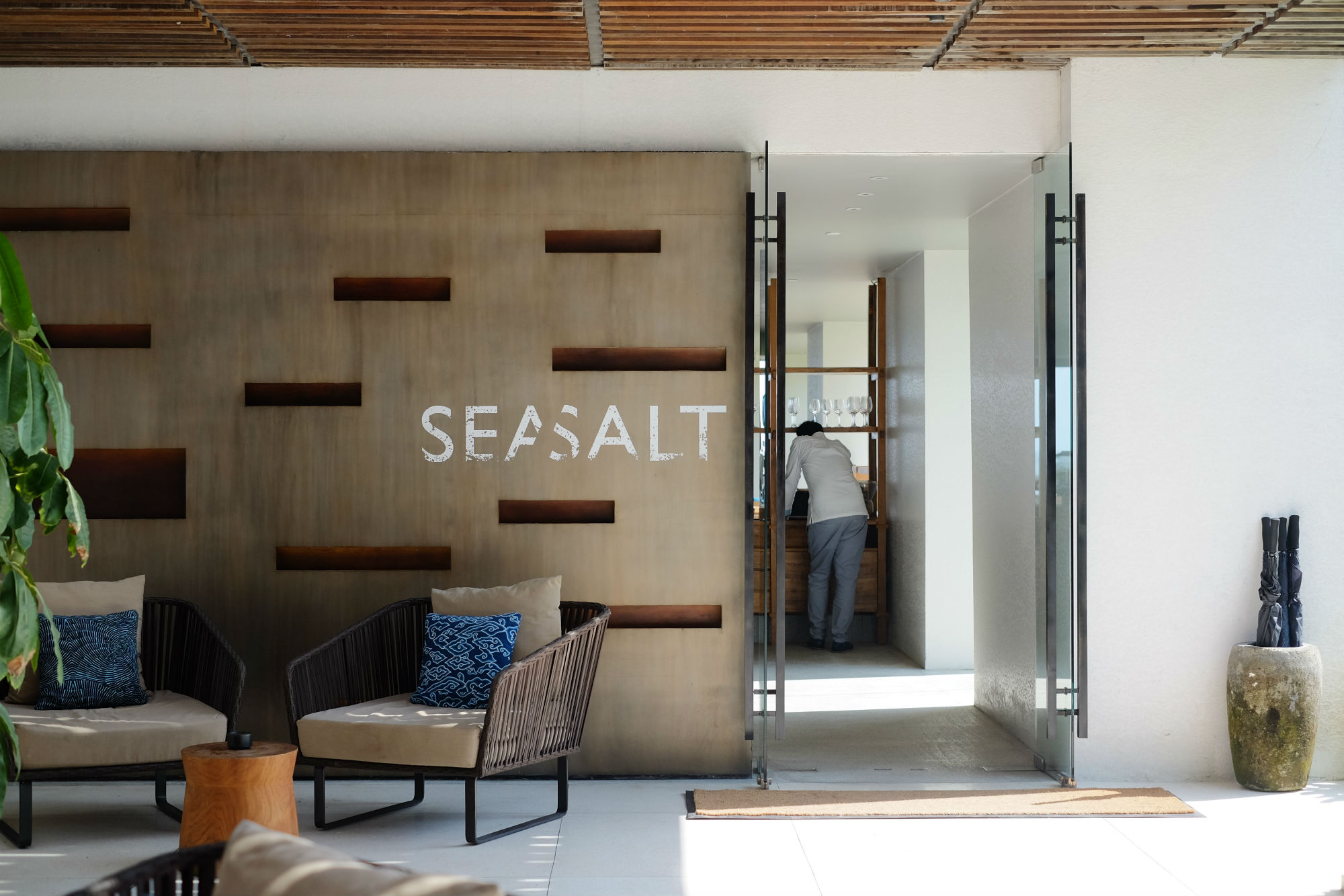 Entrance of Seasalt Seminyak